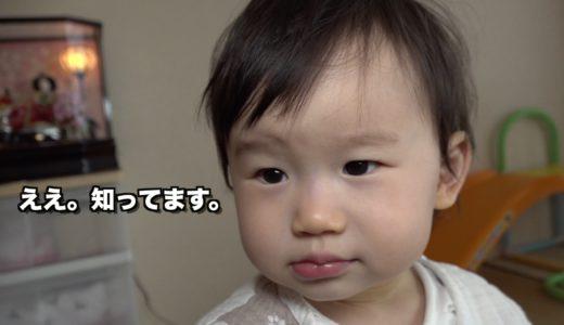 エスカレーターが大好きな1歳児